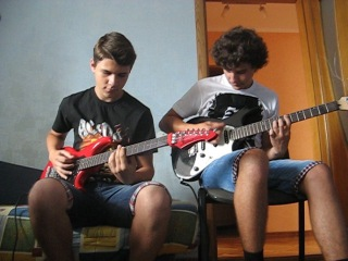 Led Zeppelin - Whole Lotta Love Solo Cover by Nazariy Dykiy & Sklif